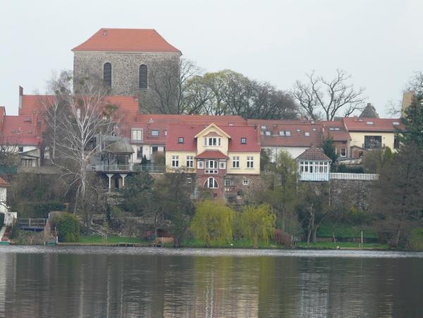 Bild mit Blick auf Strausberg