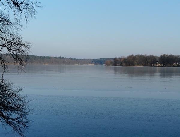 Bild mit Blick auf den See